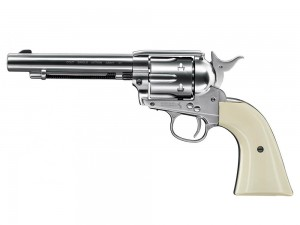 Colt SAA .45, 4.5mm, Nickel