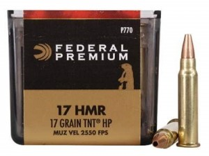 Federal .17HMR V-Shock TNT HP, 17grs
