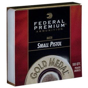 Federal GM100M Small Pistol Match