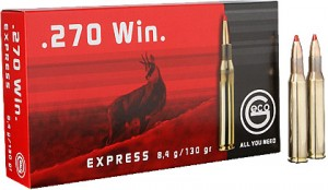 Geco .270 Win Express, 130grs