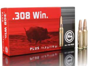 Geco .308 Win Plus, 170grs