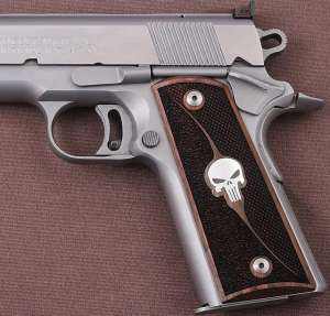 Colt 1911 Full Size, Silver, #11