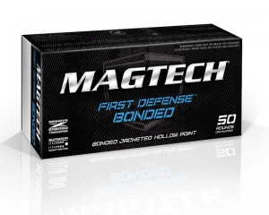 Magtech 9mm Luger JHP Bonded, 124grs