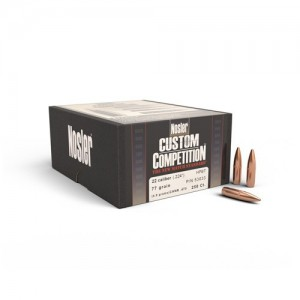 Nosler .224 HPBT/Cann Custom Competition, 250kos
