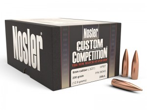 Nosler .323 HPBT Custom Competition, 250kos