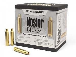Nosler Brass .223 Remington, 100kos