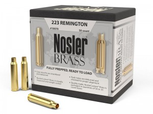 Nosler Brass .223 Remington, 50kos