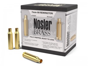 Nosler Brass 7mm-08 Remington, 50kos