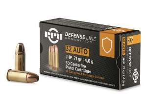 PPU 7.65mm Browning JHP, 71grs
