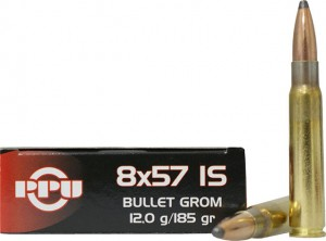 PPU 8x57 IS GROM, 185grs