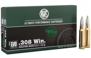 RWS .308 Win Evolution Green, 136grs
