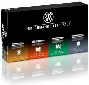 RWS Performance Test Pack, .308 Win