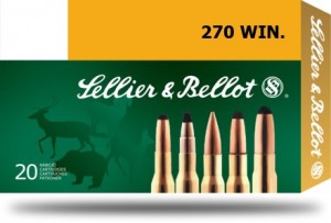 Sellier & Bellot .270 Win SP, 150grs