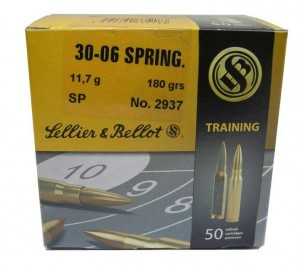 Sellier & Bellot .30-06 Spr SP, 180grs