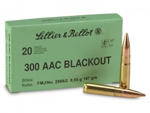 S&B .300 AAC Blackout FMJ, 147grs