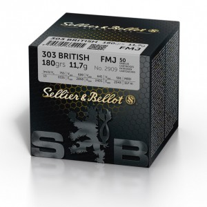 Sellier & Bellot .303 British FMJ, 180grs