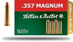 Sellier & Bellot .357 Magnum FMJ, 158grs