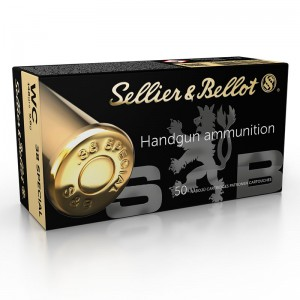 Sellier & Bellot .38 Special WC, 148grs