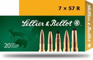 Sellier & Bellot 7x57R SP, 140grs