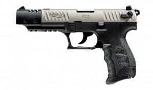 Walther P22Q Target Nickel